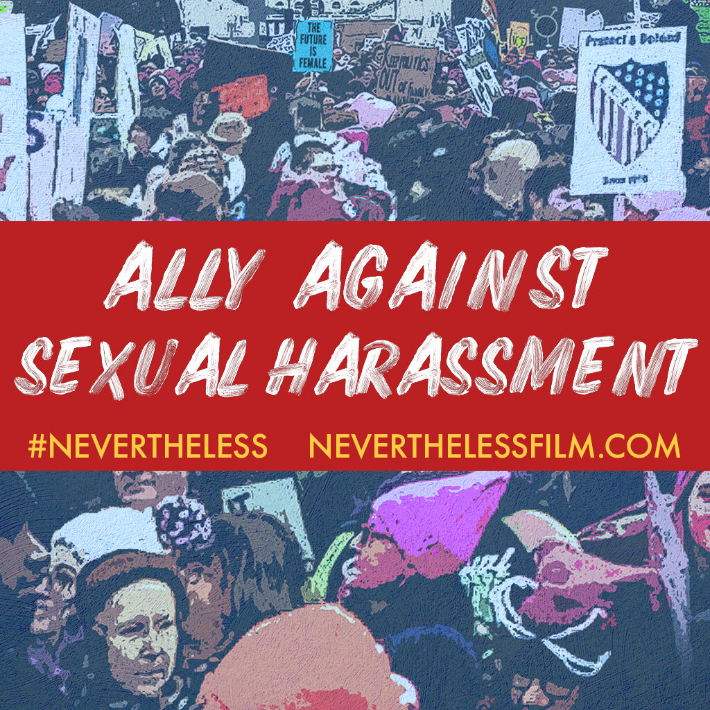 "Facebook Image #2 - ""Ally Against Sexual Harassment"""
