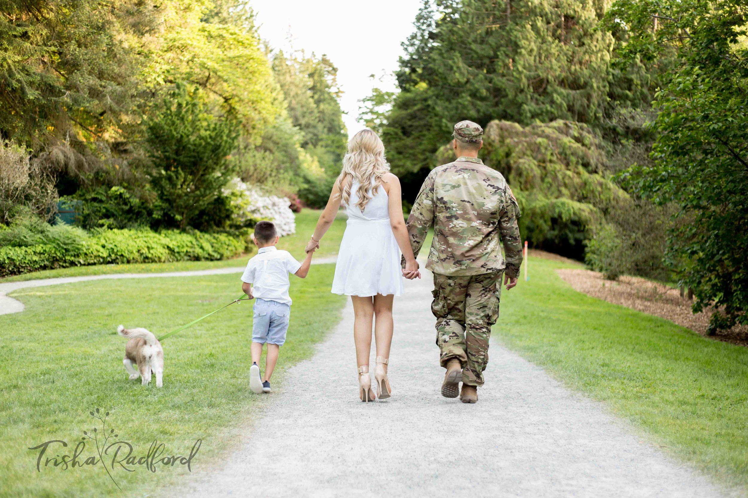 Army family photoshoot
