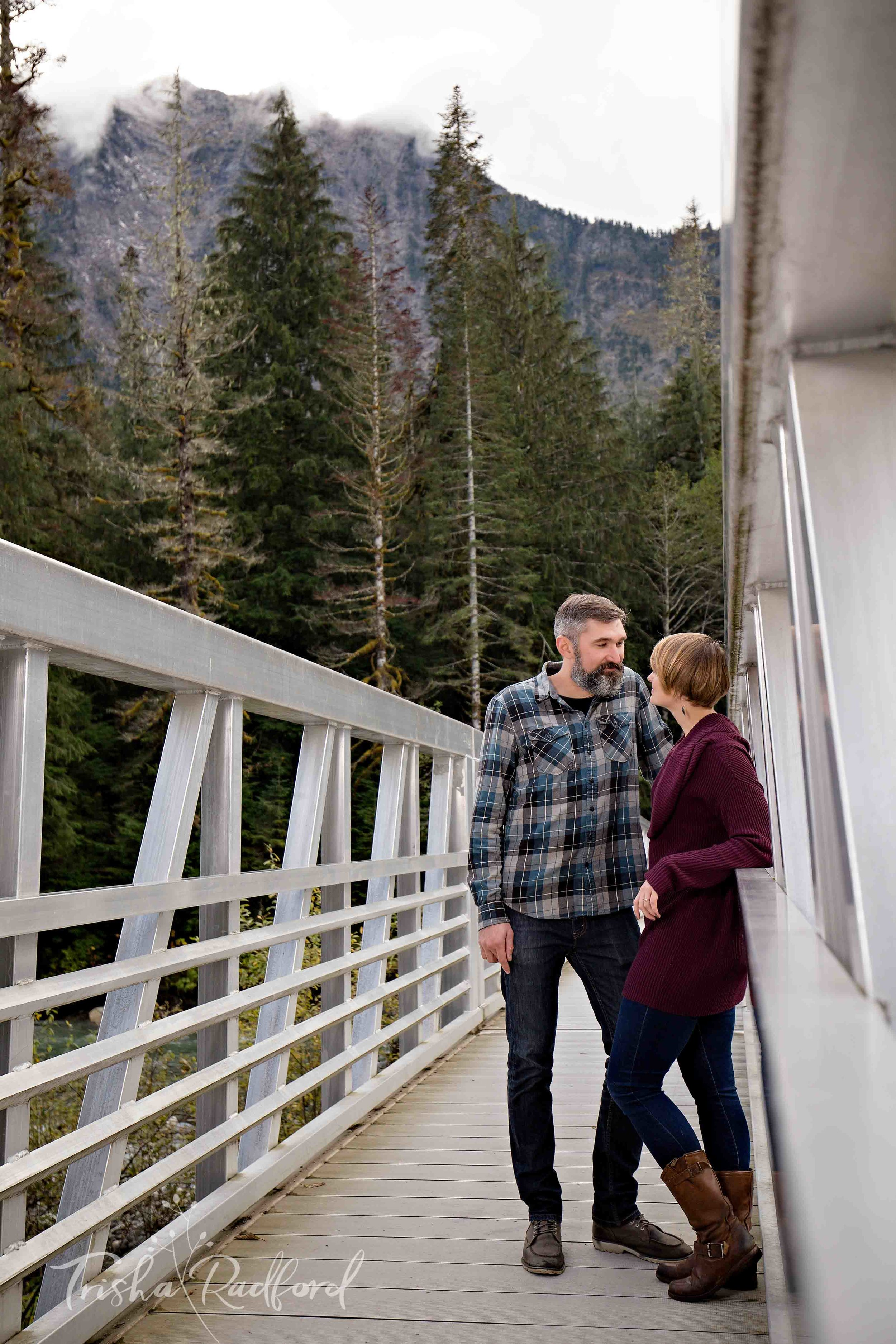 Snohomish County Adventure Engagement Photography
