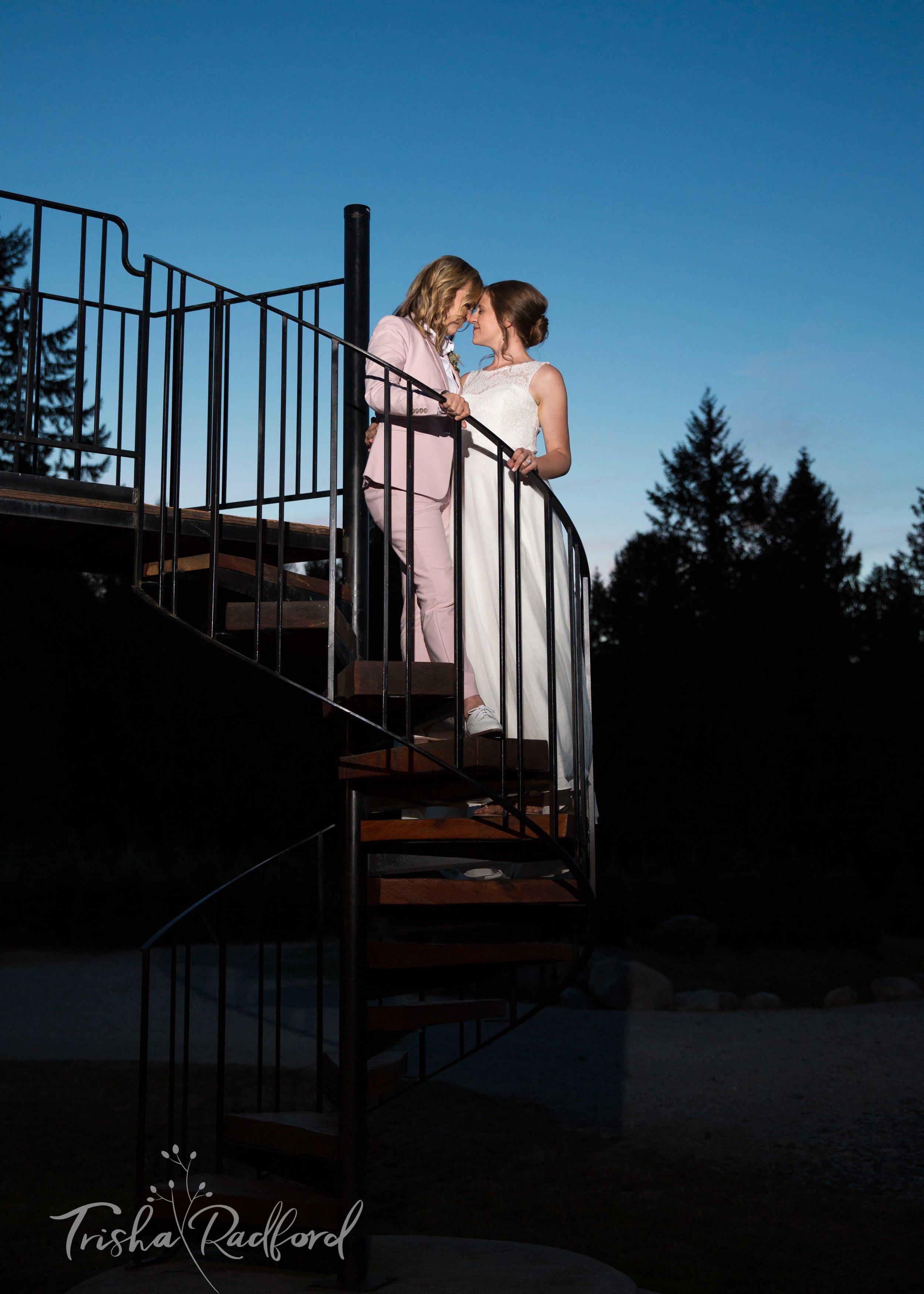 Wedding Photography at Trinity Tree Farm, Issaquah WA