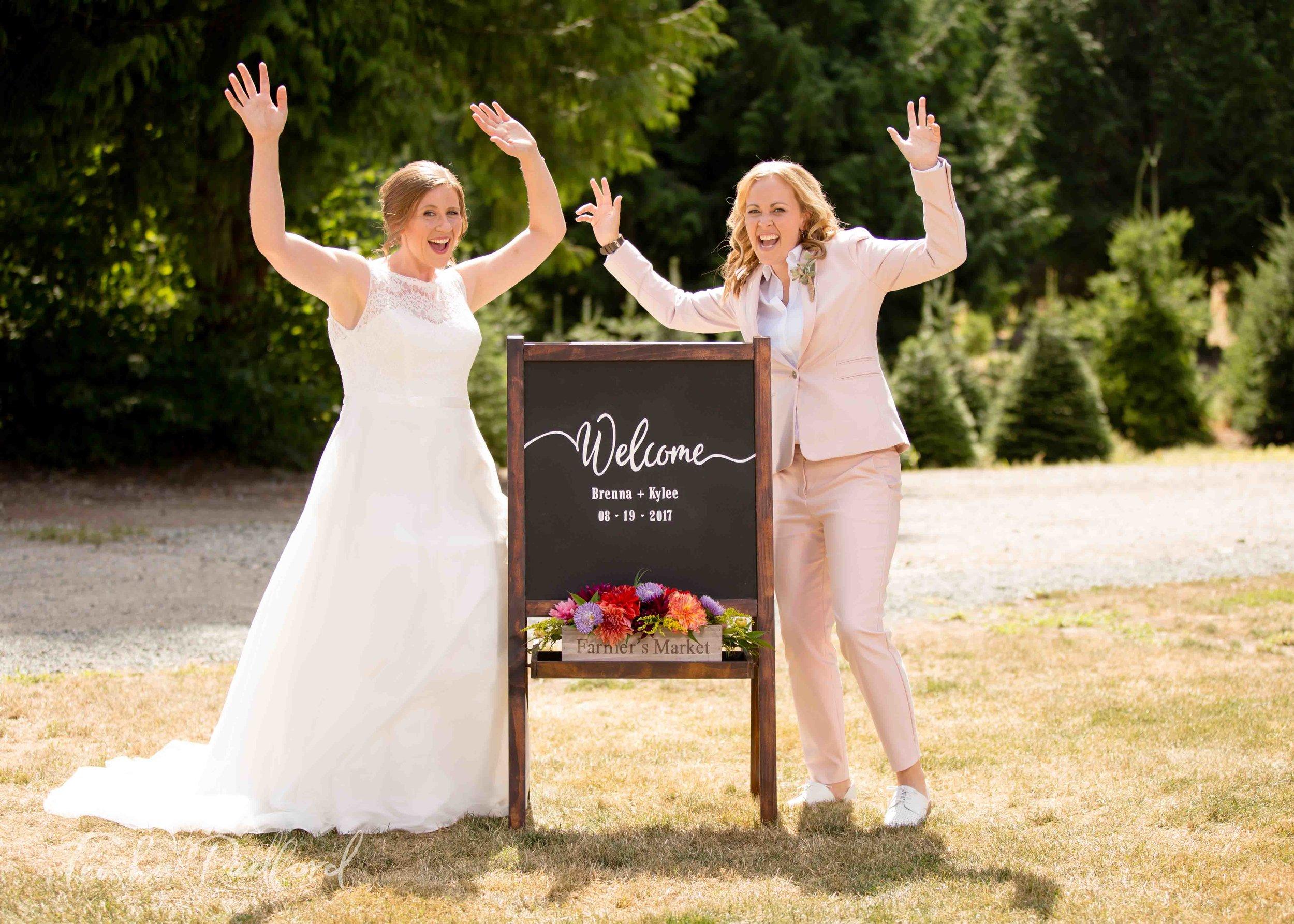 Wedding Photography at Trinity Tree Farm, Issaquah WA - Bridal Portraits