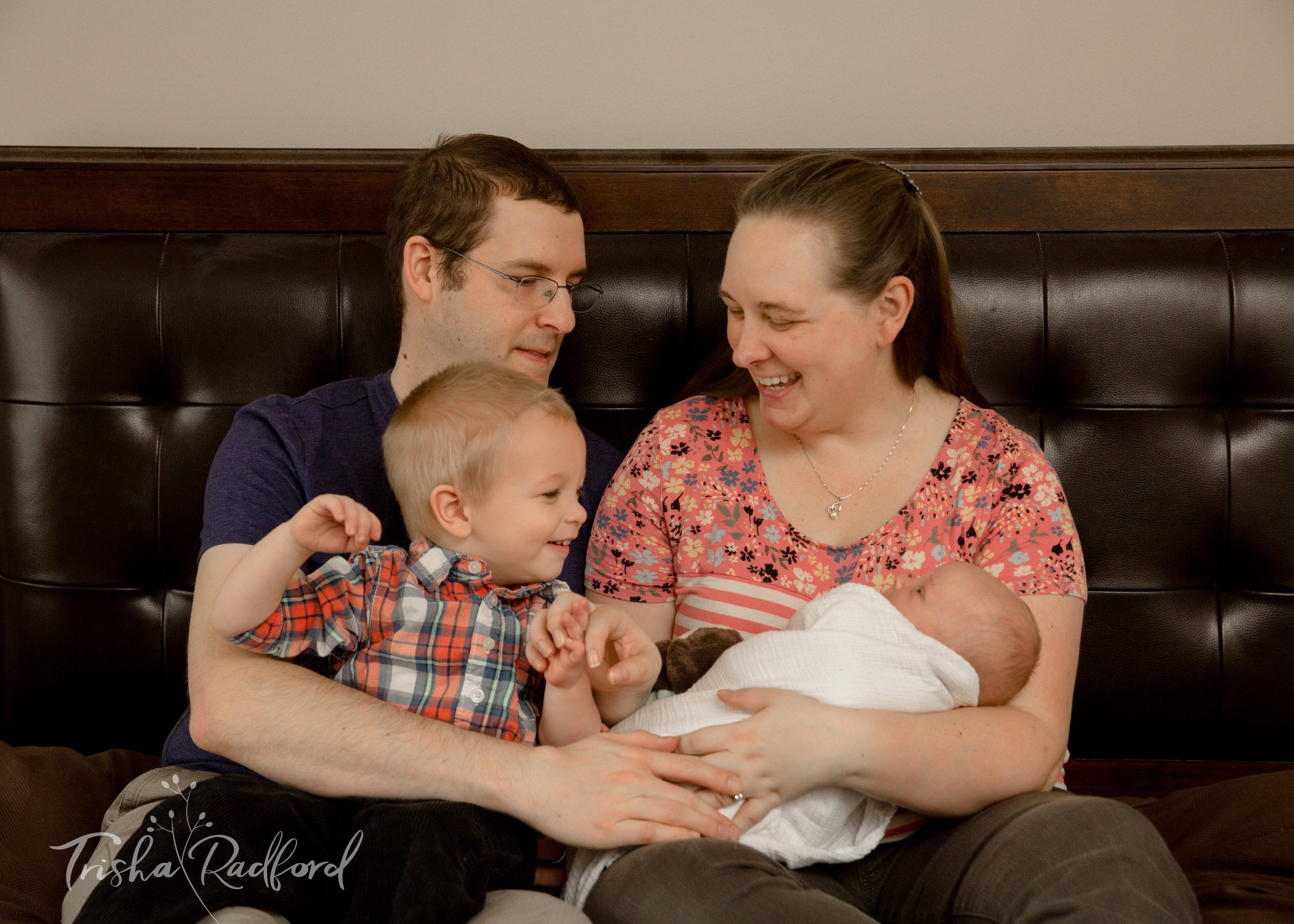 Snohomish County Lifestyle Newborn Photography