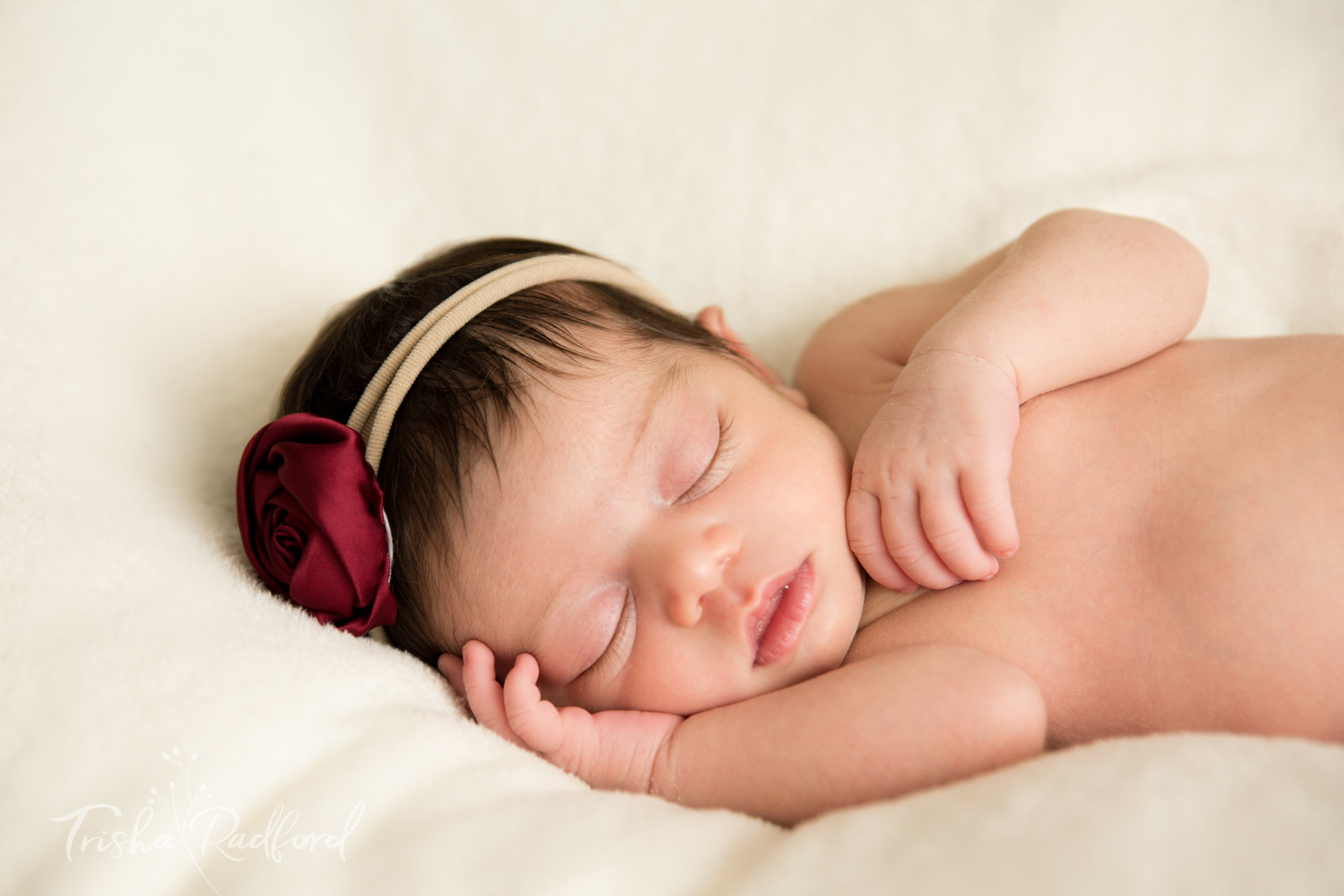 Photo of newborn baby girl