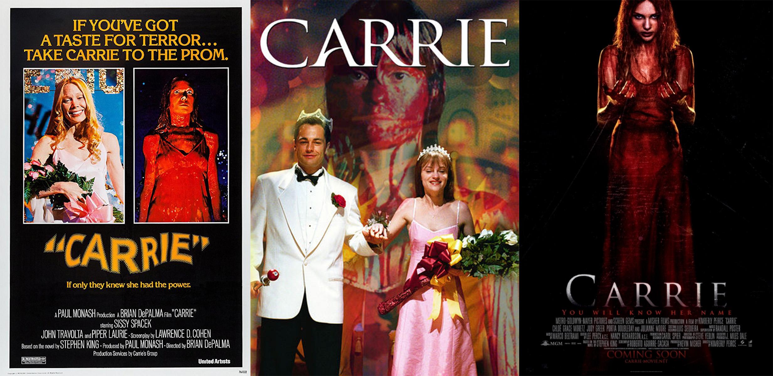Left: 1976 Poster; Center: 2002 Poster; Right:2013 Poster