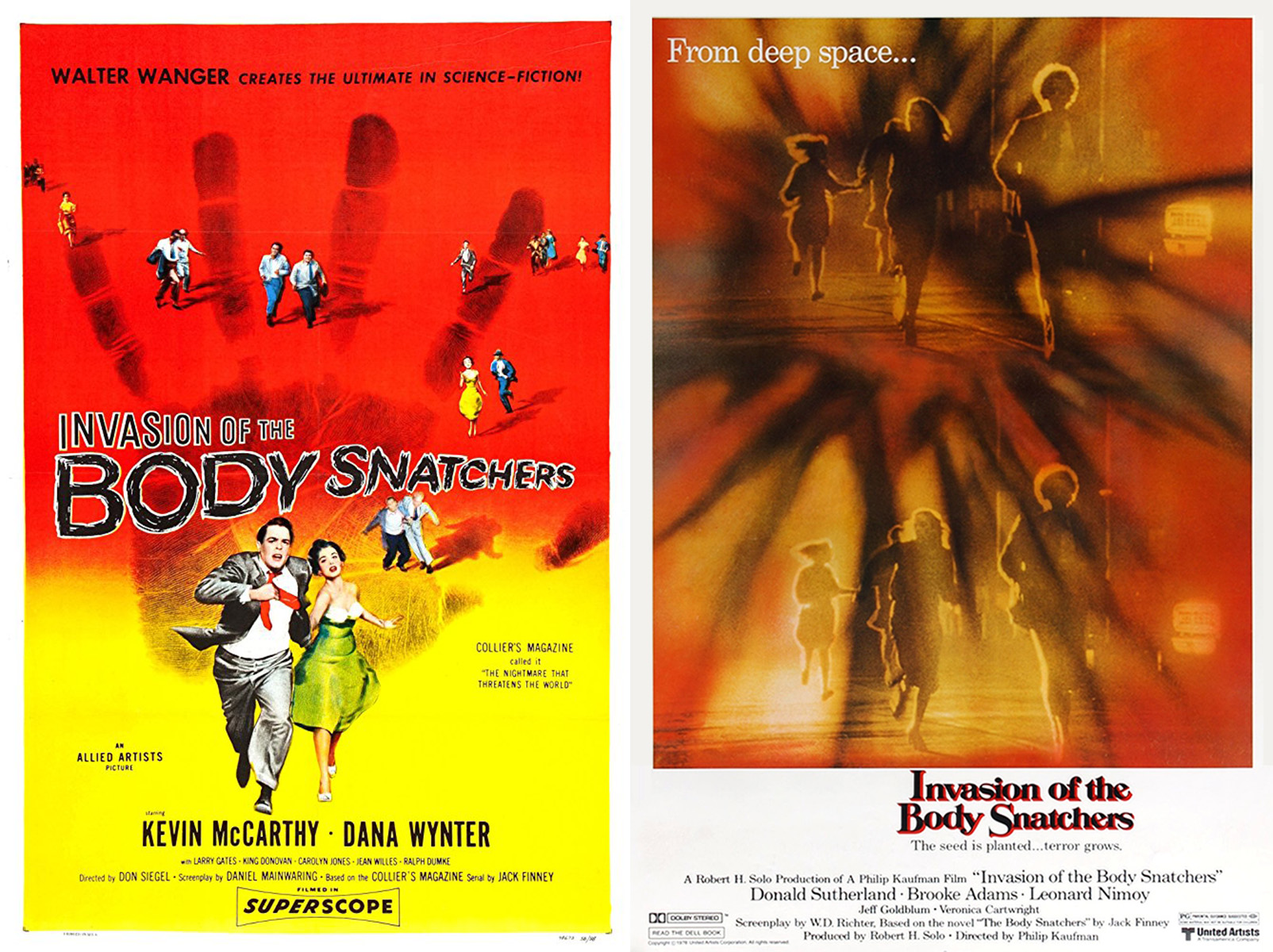 Left: 1956 Poster; right: 1978 Poster