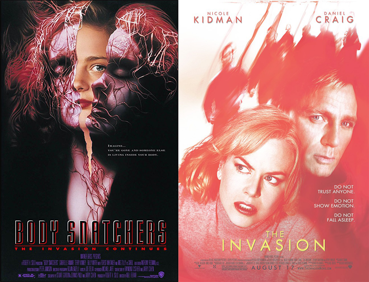 Left: 1993 Poster; Right: 2007 Poster