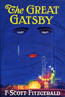 First edition cover Author:  F. Scott Fitzgerald
