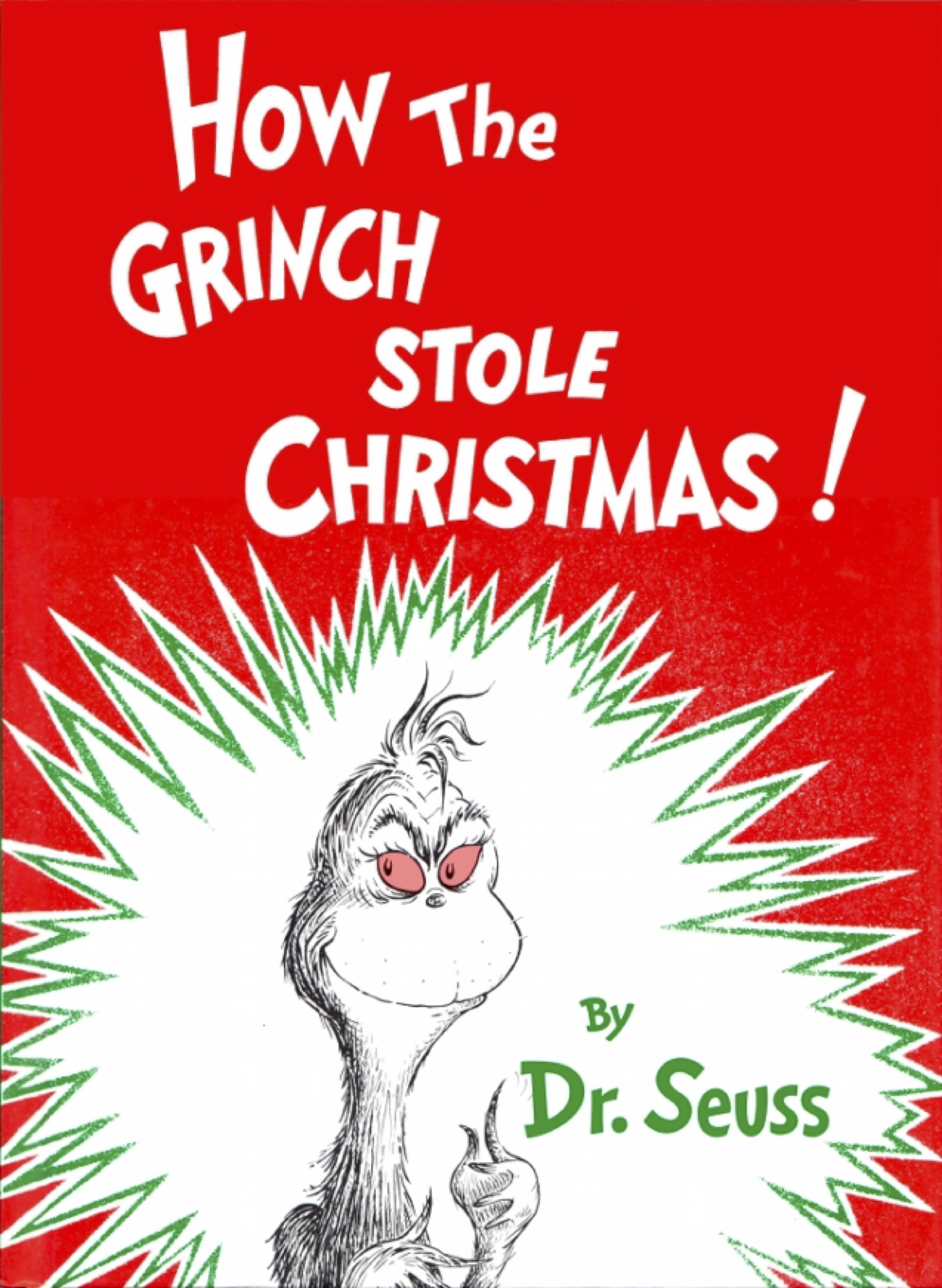 First edition cover Author:  Dr. Seuss