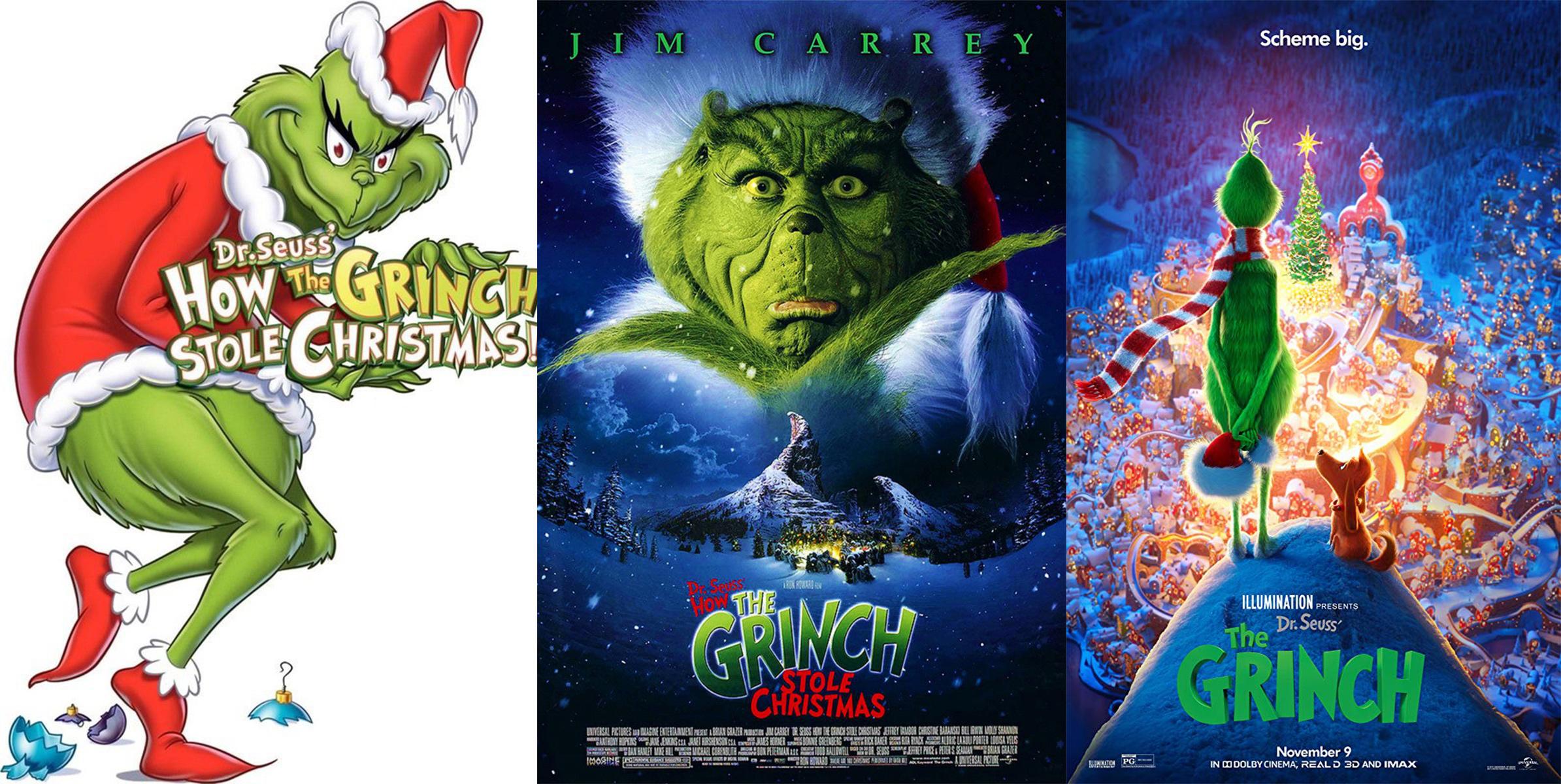 Left: 1960 Poster; center: 2000 Poster; Right: 2018