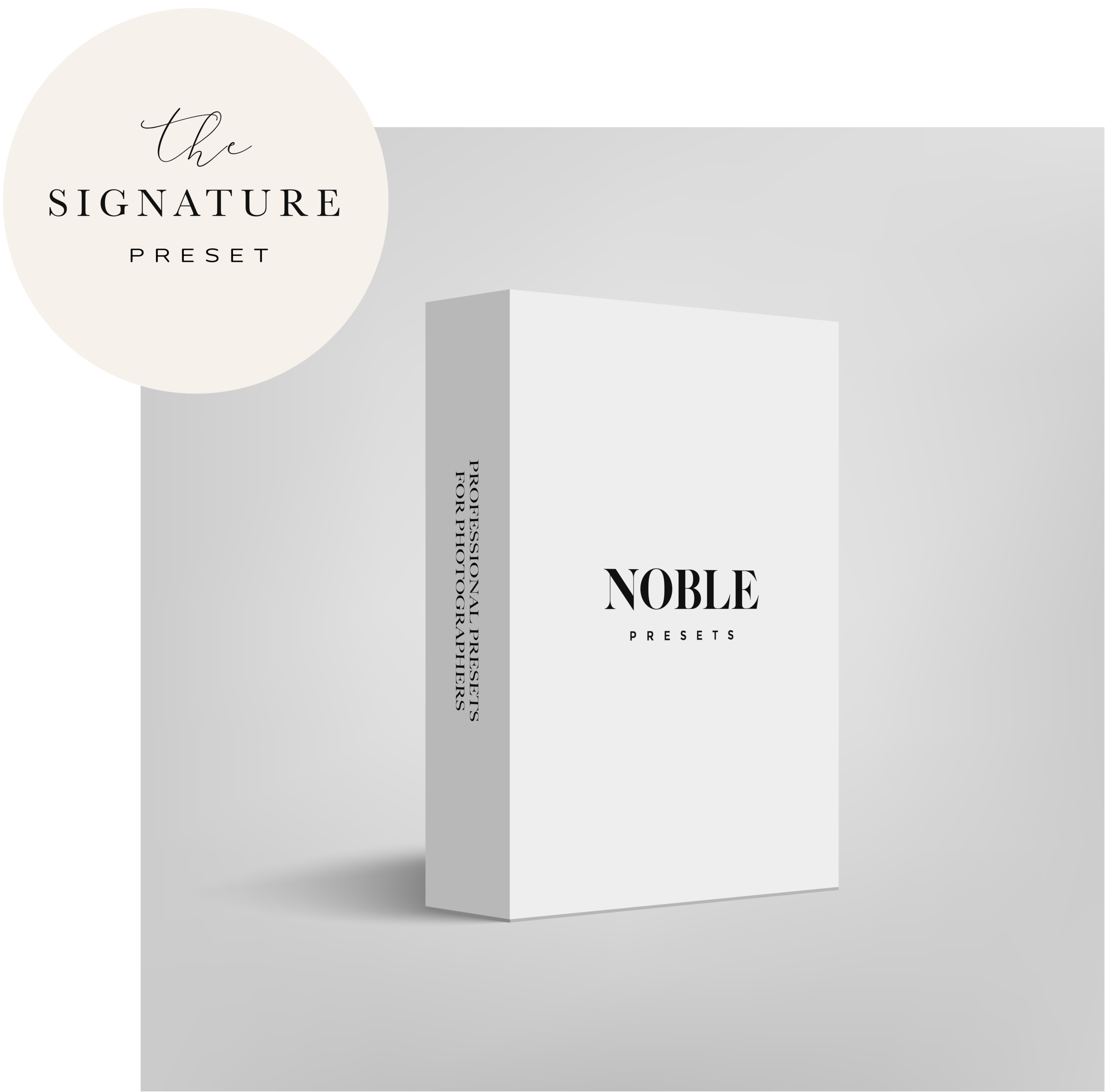 Noble Presets: Cleanest film inspired presets for photographers