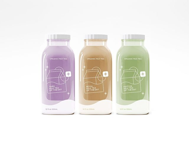 Branding Final� Milk Tea of the Day