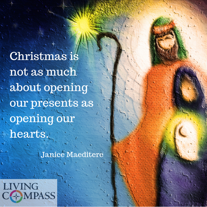 Opening Our Hearts to Christmas