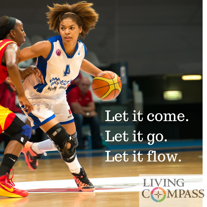 Let it Come. Let it Go. Let it Flow.