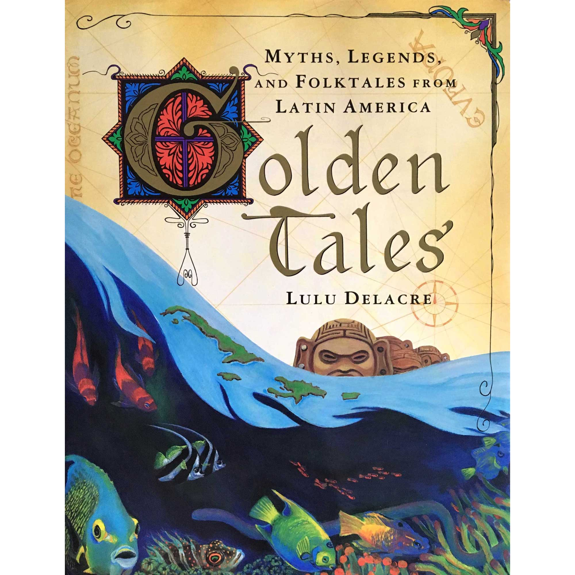 golden tales by lulu delacre