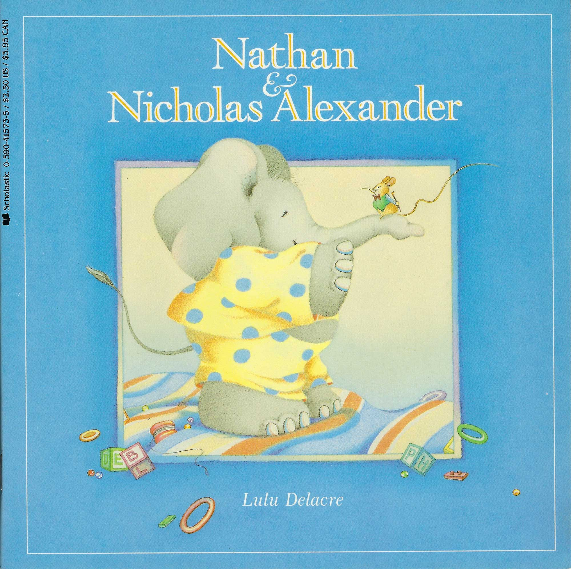 nathan and nicholas alexander childrens book