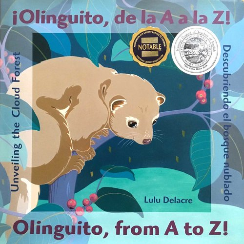¡Olinguito, de la A a la Z! childrens book by lulu delacre