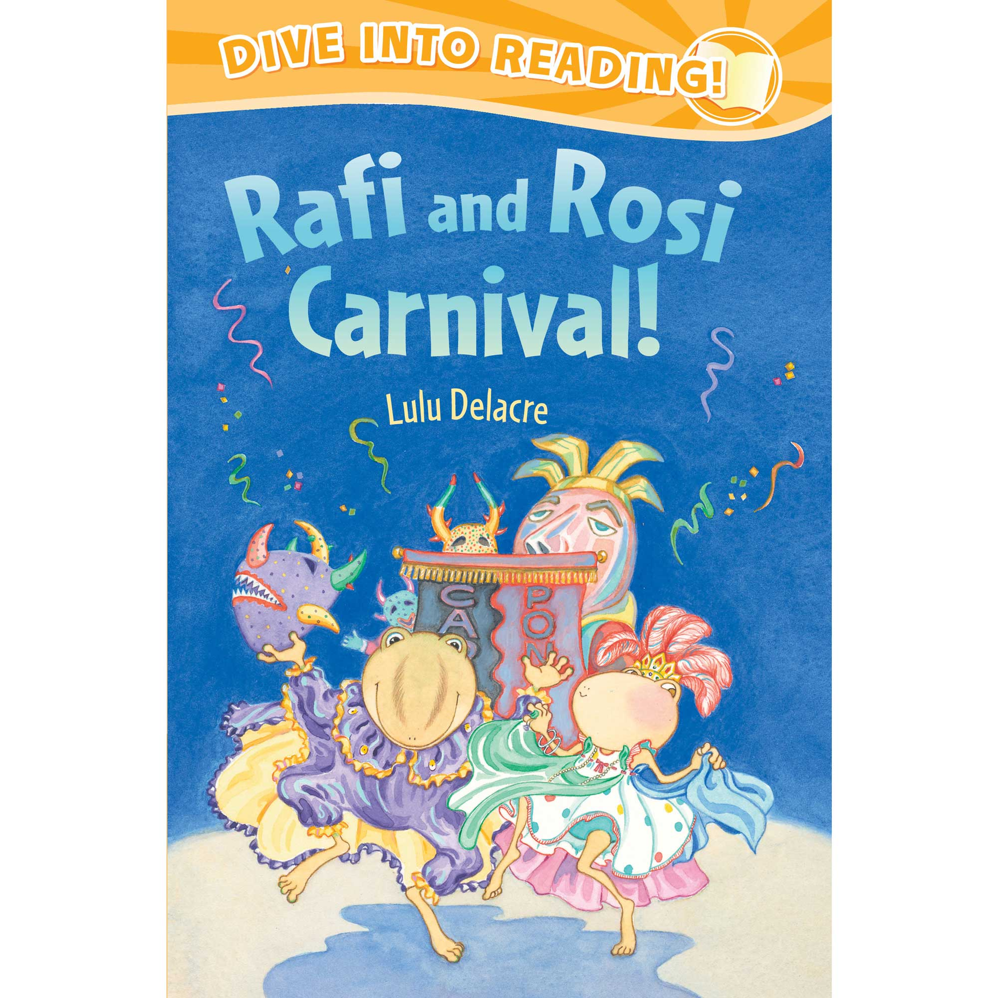 rafi and rosie carnival childrens book by lulu delacre