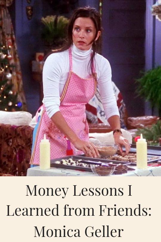 Monica Geller making candy
