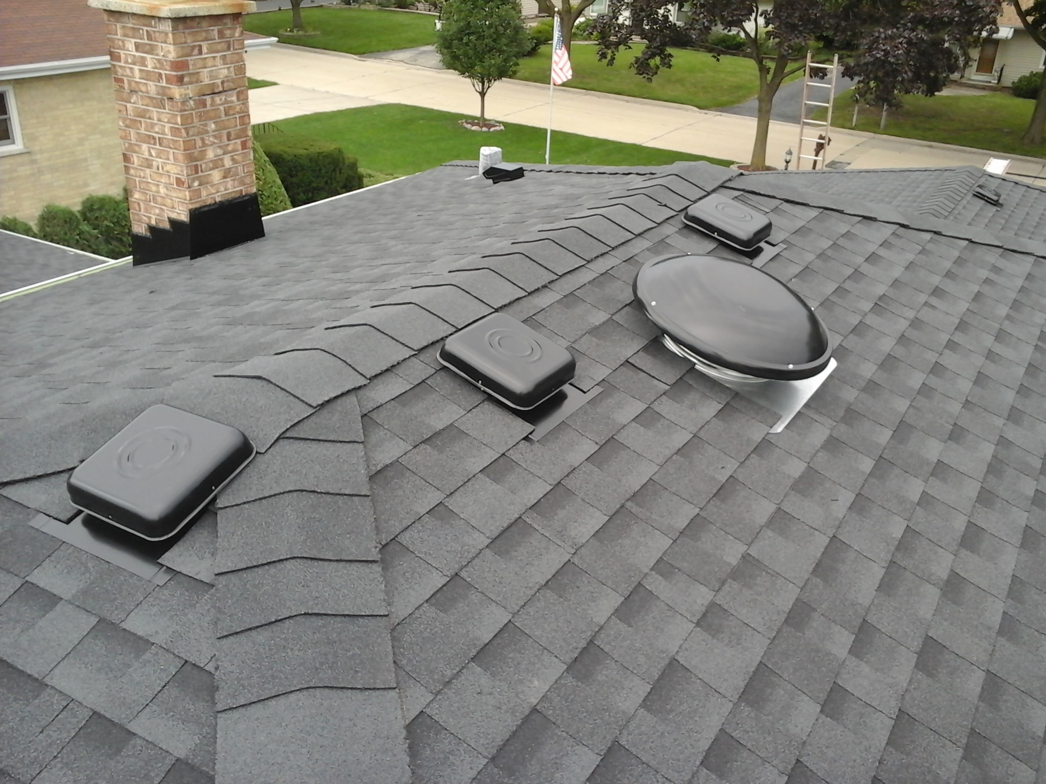 Don't Let Storms Blow You Away: Call Feze Roofing Today! - Elmhurst, Illinois has experienced significant hail, wind and storm damage over the last year.