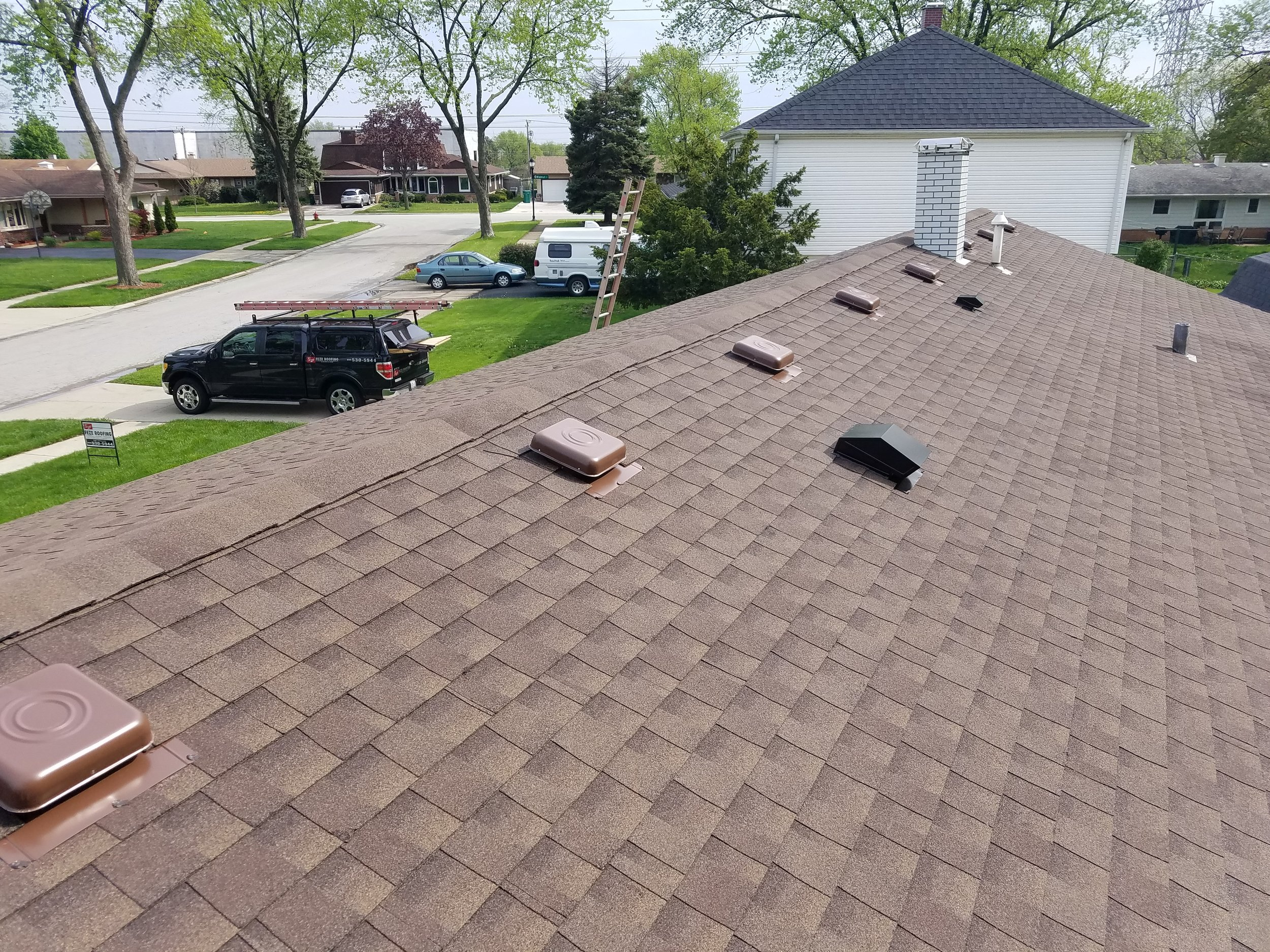 Roofing Process: Step 2 - Installation of Roof