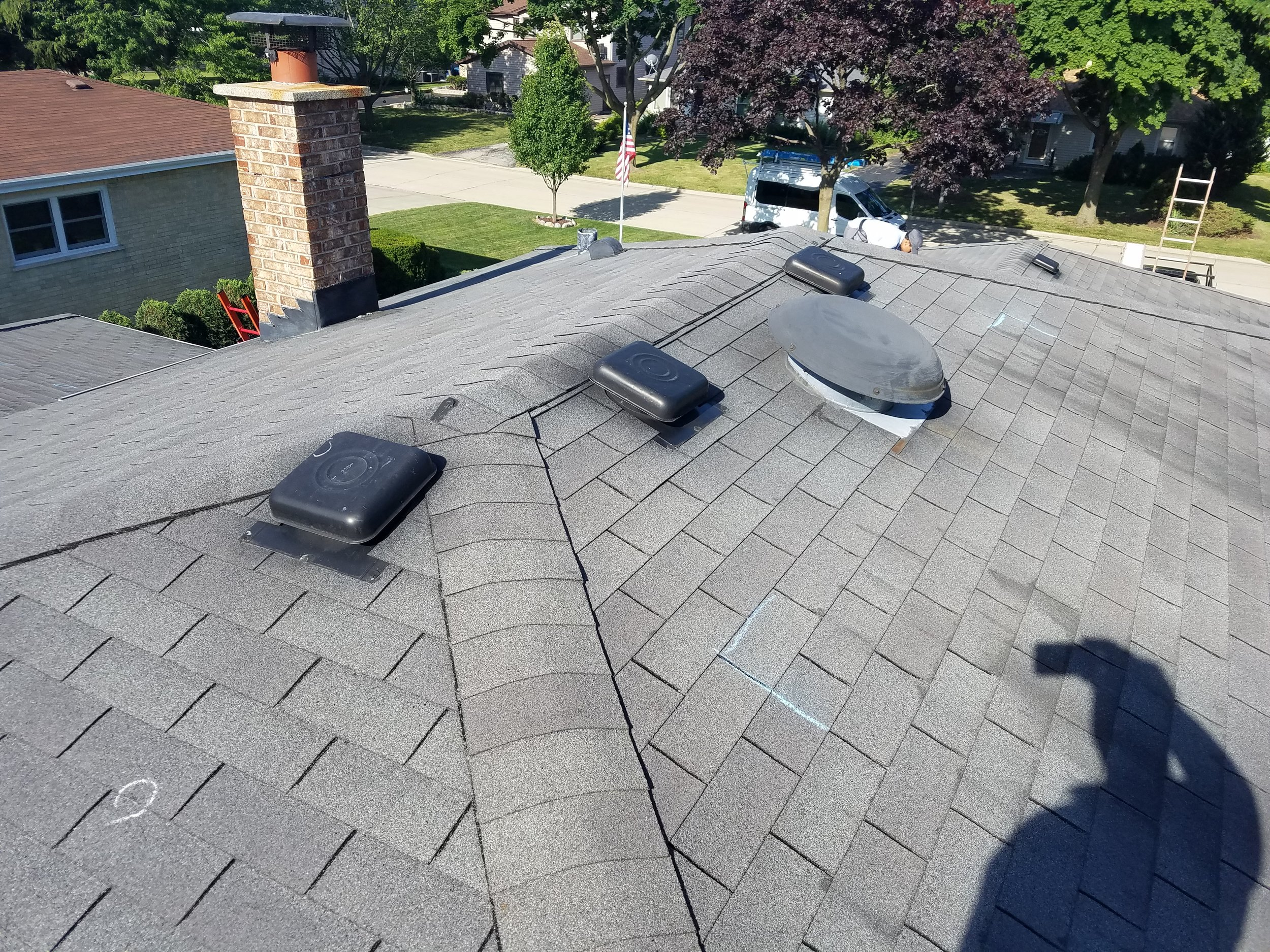 Feze Roofing - Before Photo - Project Location: Elmhurst, IL