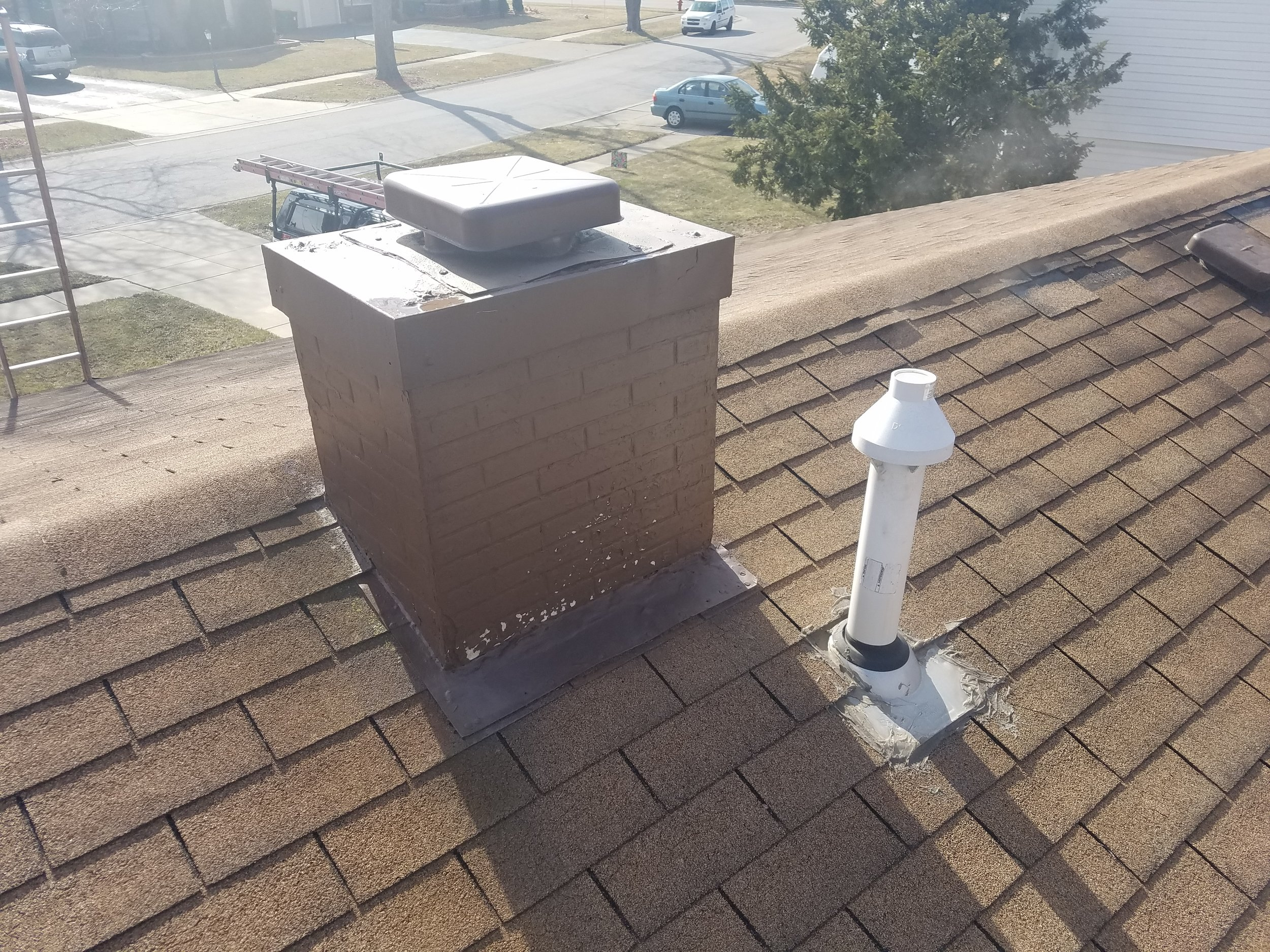 Feze Roofing - Before Photo - Project Location: Elk Grove Village, IL