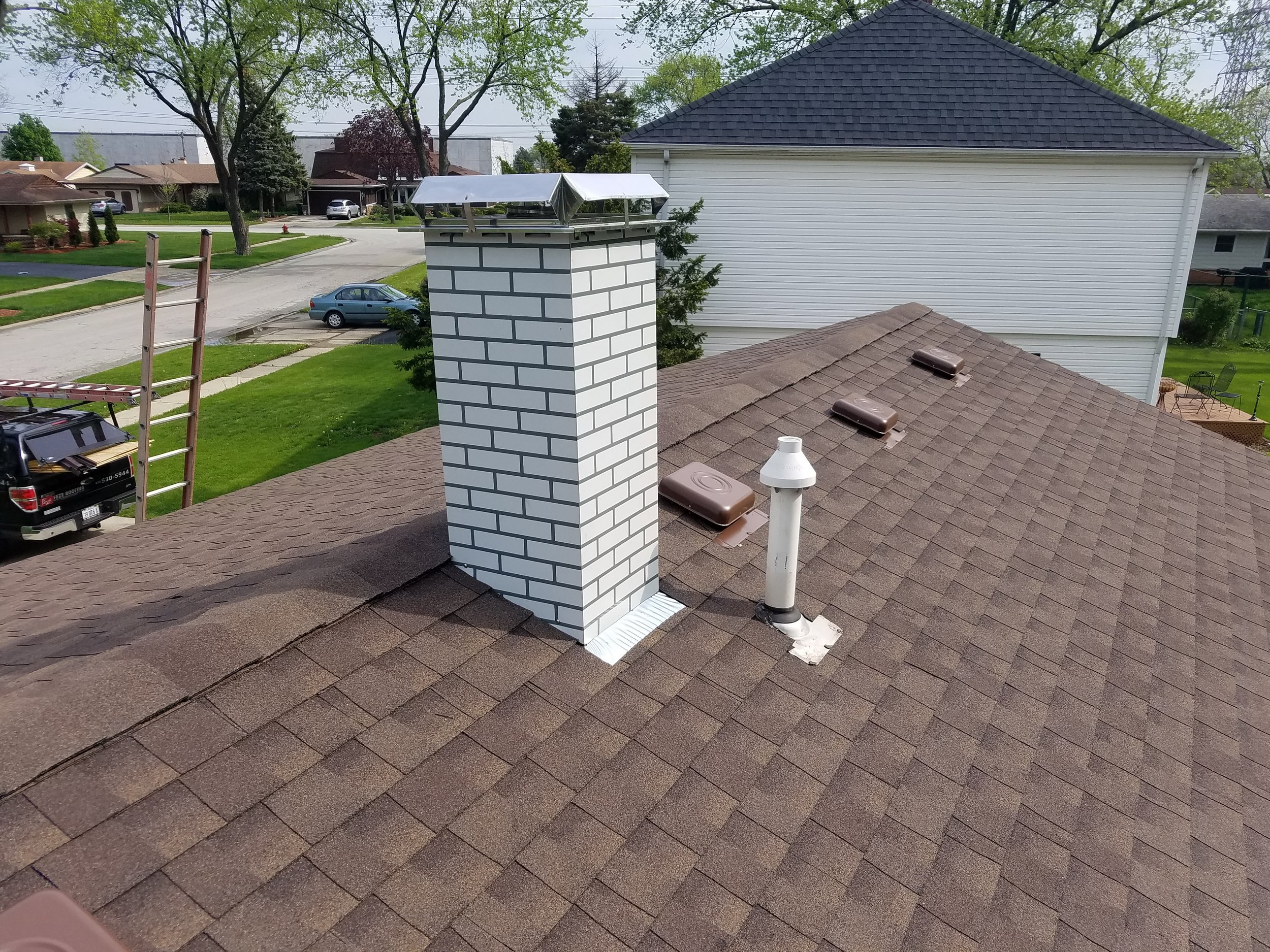 Feze Roofing - After Photo - Project Location: Elk Grove Village, IL
