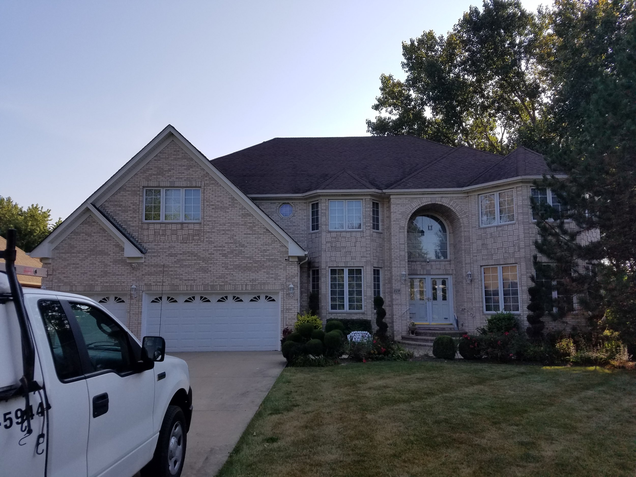Feze Roofing - Before Photo - Project Location: Schaumburg, IL