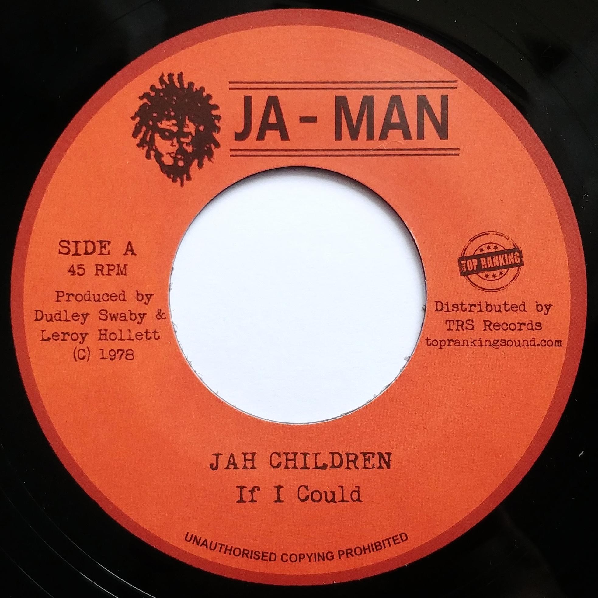 Jah Children - If I Could / Dub