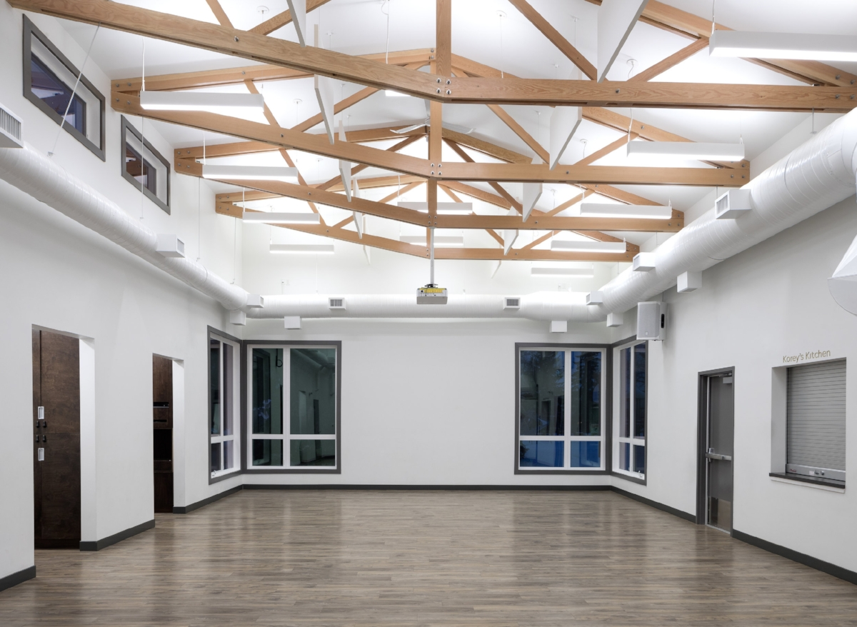 new community hall -