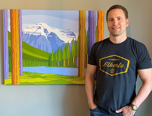 Hey! It's Allan Milne here taking over the Strathearn Artwalk IG today! I am a high school art teacher by day and superhero 🦸♂️...oh hold on, artist by night. I am hosting an Open House Studio and Art Show today and would like to invite you to come by. Go to @allanmilneart for more info. But don't worry if you can't make it out today, I will of course be at the FUN and AMAZING Strathearn Artwalk this September.  #mountrobson #bc #mountains #mountainart #yegarts #yegartists #strathearnartwalk #yegfestival @oleoriginals #exploreedmonton #allanmilneart
