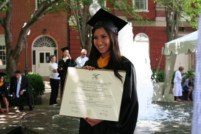 Georgetown diploma!