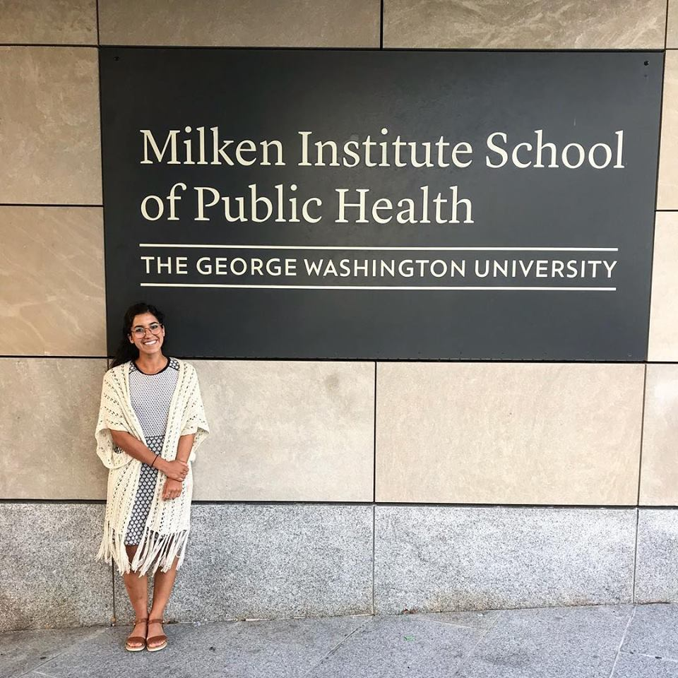 After presenting my graduate research thesis at GW Milken, officially completing my MPH