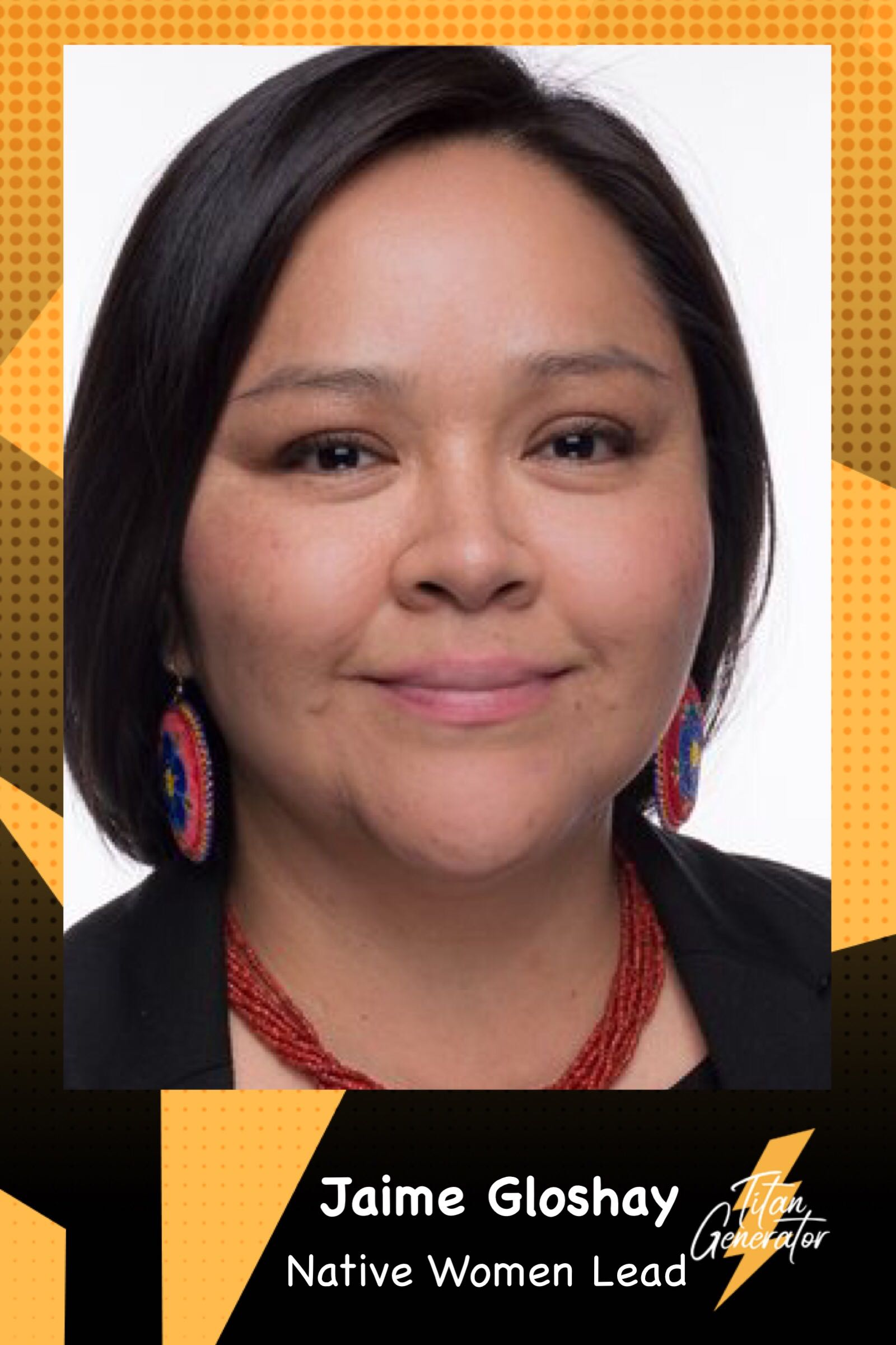 Jamie Gloshay - Native Women Lead