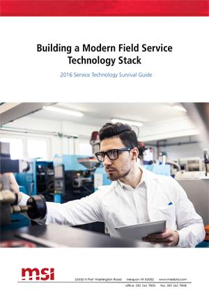 MSI DATAfiELD SERVICE TECHNOLOGY STACK -