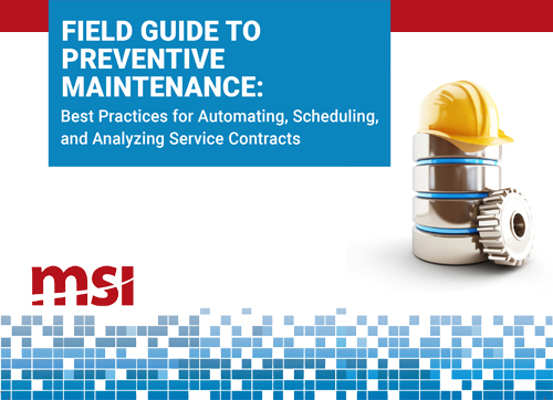 msi field guide to preventive maintenance -