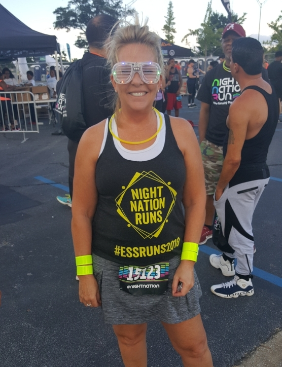 Barb is an avid running and loves a good EDM concert #StandUp2Cancer #NightNationRunATL