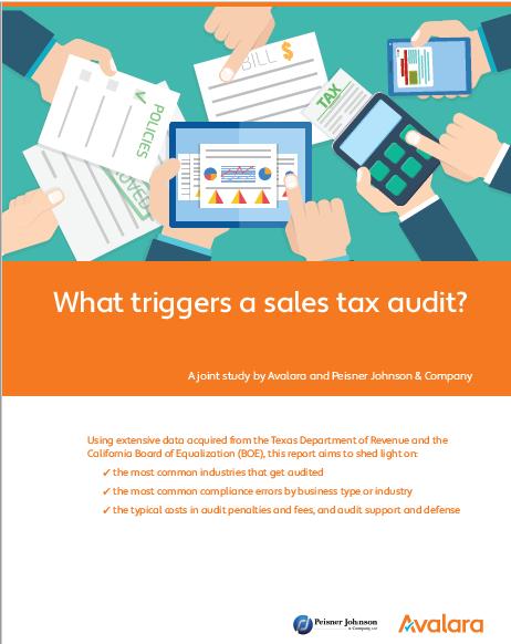 avalara's sales tax audit trigger -