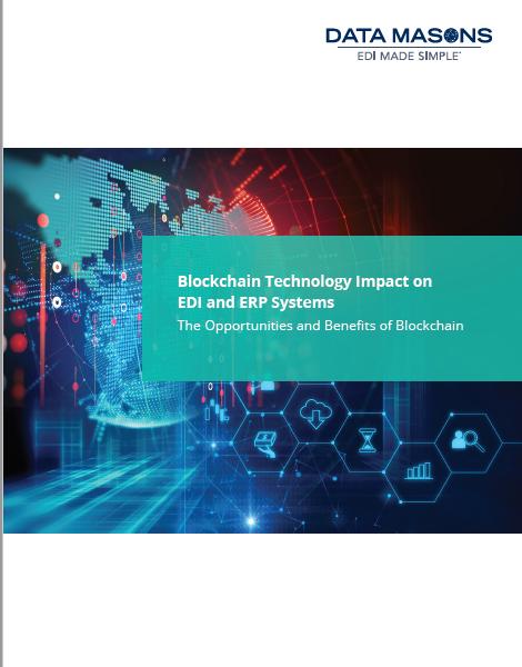 Data mason's blockchain technology impact on edi and erp systems -