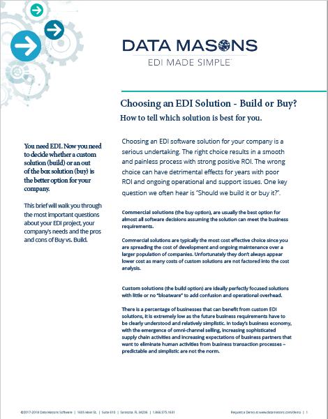 data mason's build or buy? -