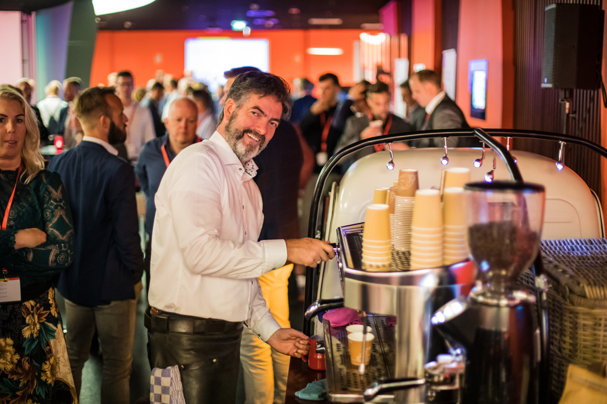 Every conference, no matter what continent, runs on great coffee!