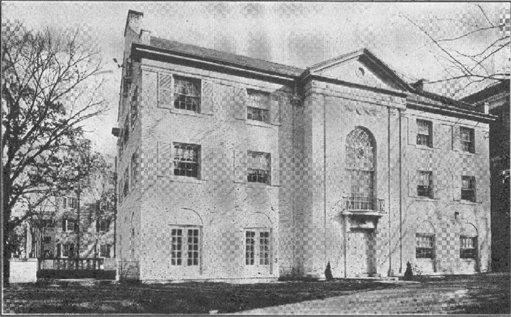 Theta Chi House, 144 Langdon Street, 1927