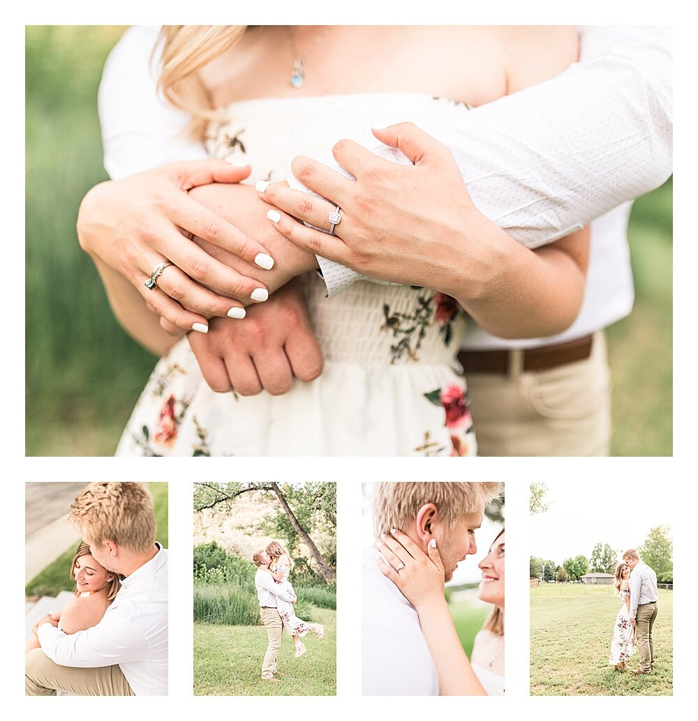 billings engagement and wedding photographer