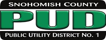 - Snohomish County PUD is the second largest publicly owned utility in Washington. We serve over 350,000 electric customers and about 21,000 water customers. Our service territory covers over 2,200 square miles, including all of Snohomish County and Camano Island.