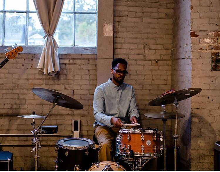 Playing a private event for client  Matchstic ! ( Photo by   Wildgrain )