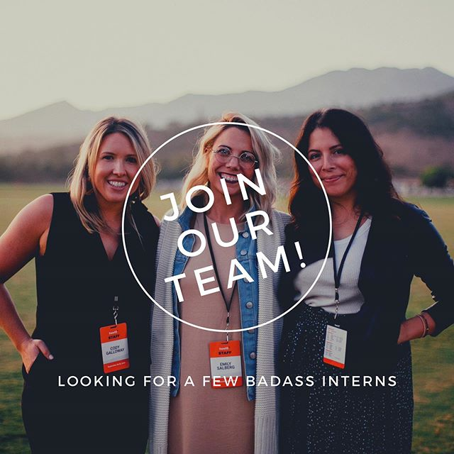 WE ARE HIRING! We are looking for a few hardworking, badass interns to join our team.  We are a collection of doers, creators and makers with an eye and a passion for all things events. From festivals to launch parties, weddings to curated client activations – we have a knack for making events become experiences and our connections, a community.  We are looking for savvy people that know when to roll up their sleeves and how to jump right into the organized chaos of the event world. The internship will be involved in every aspect of event planning - from budgets to marketing, logistics to decor, contracts to the nitty gritty organizational systems. The interns also get to be onsite for some really amazing events to see all the hard work come to fruition.  Sound like you something you'd crush? Email us at hello@collaborativeevents.com