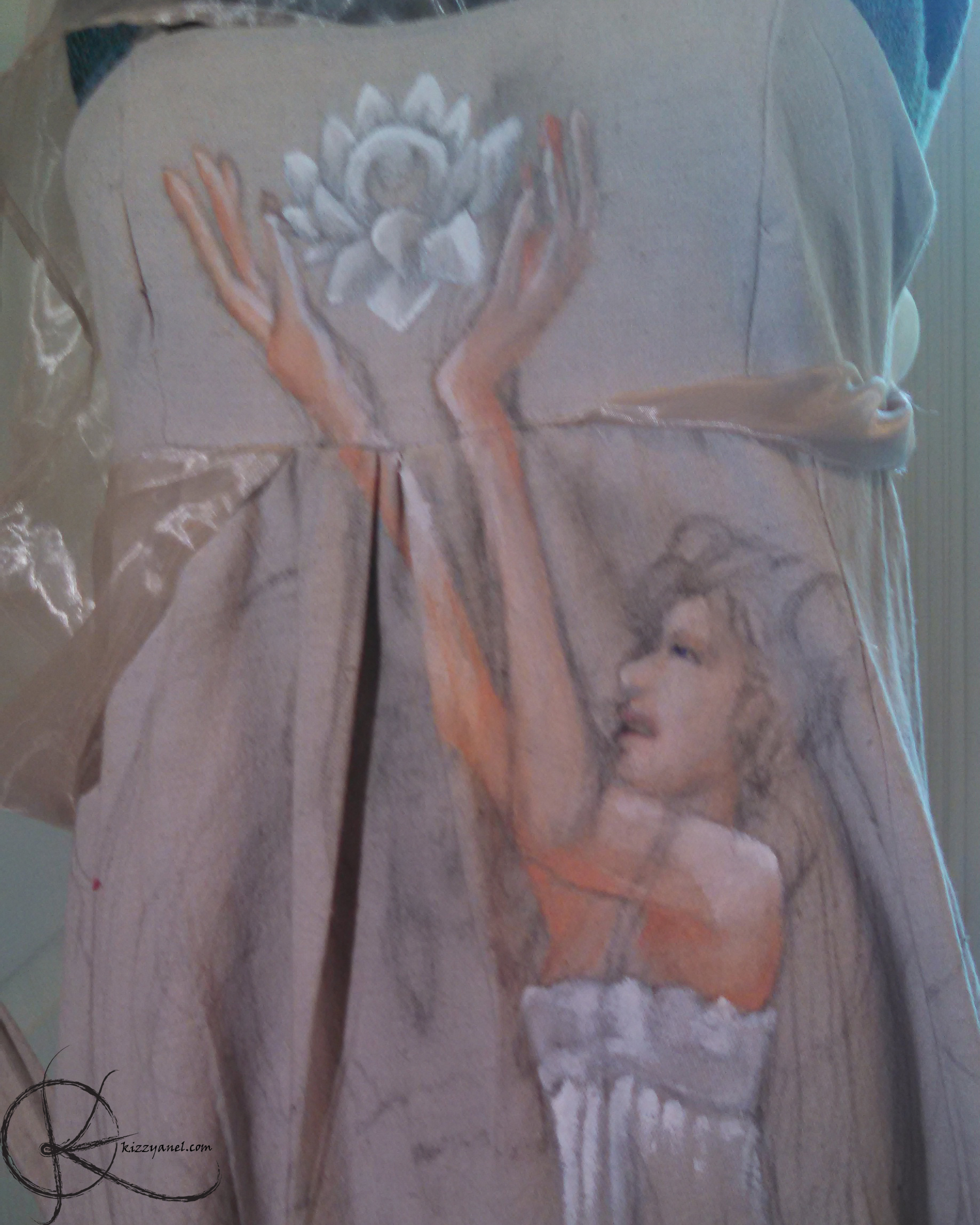 WIP Serenity painting progress