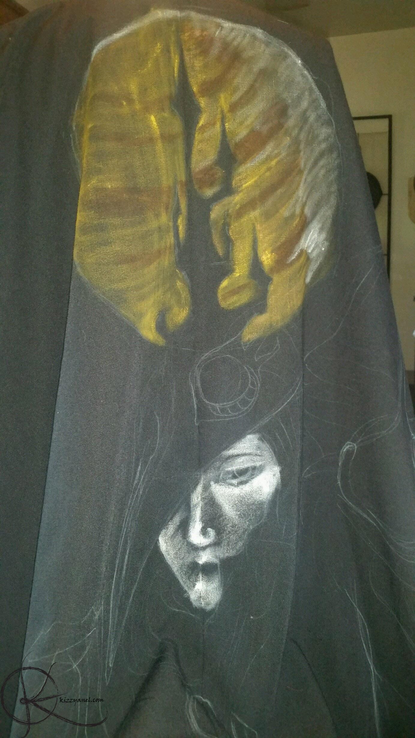 WIP cape paint