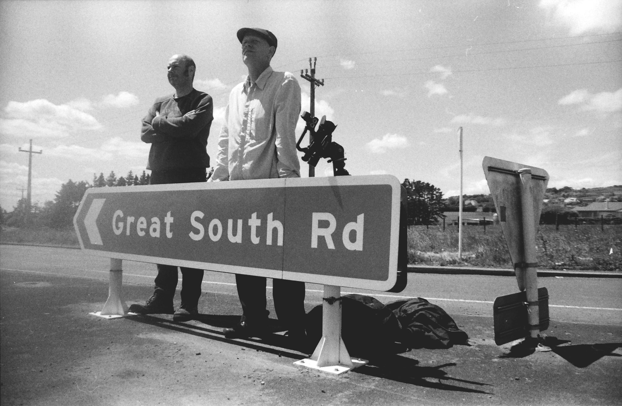 The inaugural Tōia Talks lecture featured filmmaker, Paul Janman and historian, Scott Hamilton who discussed their feature documentary, 'Fragments of the Great South Road' and screen footage from the film.