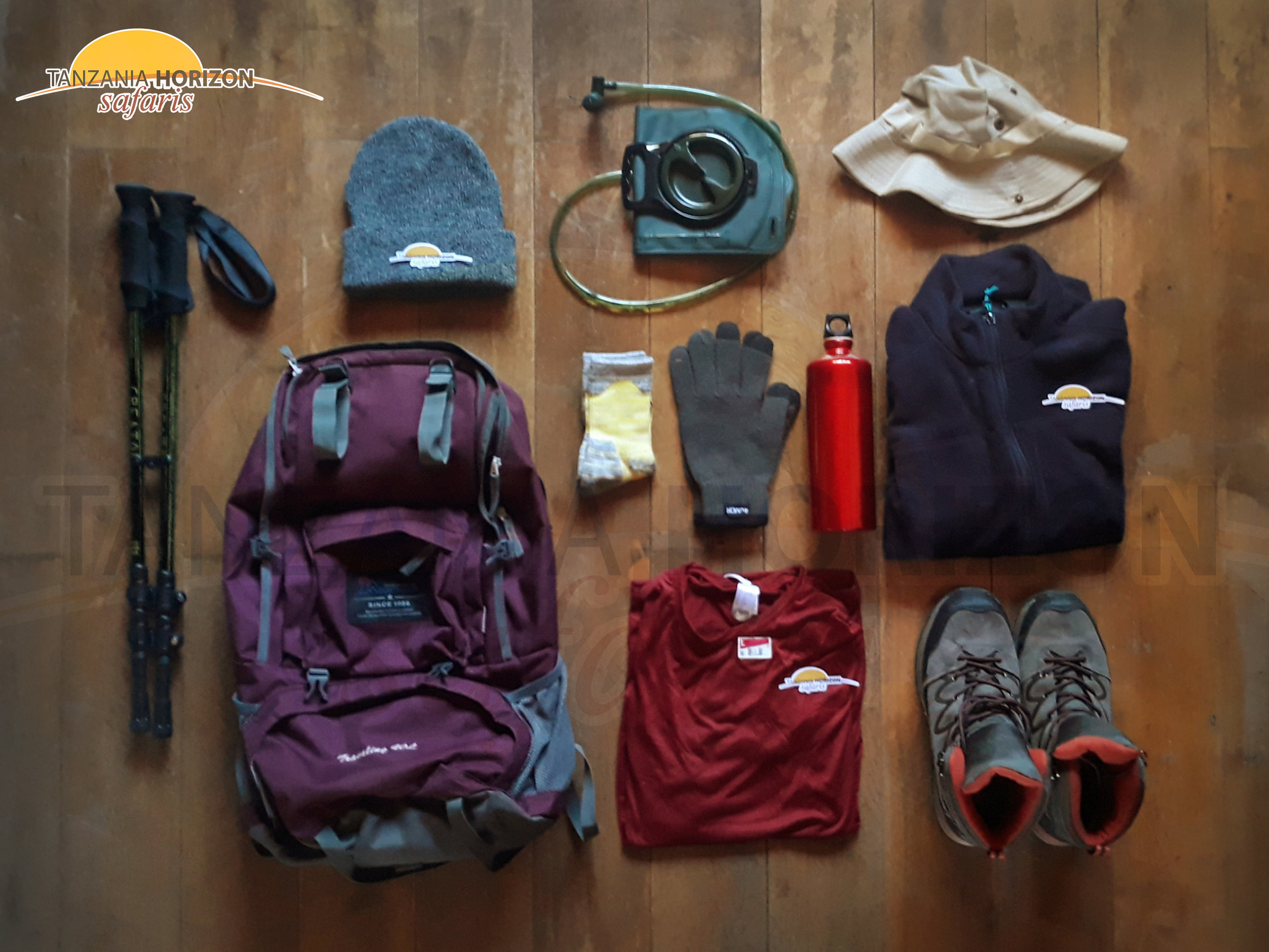 A DAYPACK FOR CLIMBING KILIMANJARO